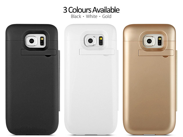 Power Jacket with Cover For Samsung Galaxy S6 - 4500mAh