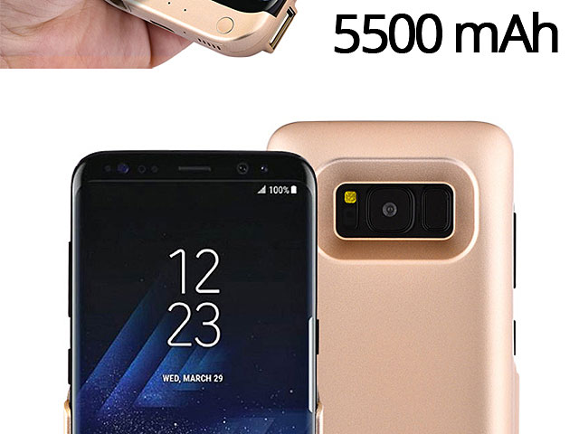 Power Jacket For Samsung Galaxy S8 - 5500mAh