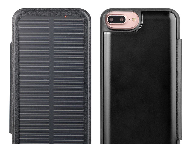 Solar Power Jacket For iPhone 8 Plus - 5000mAh