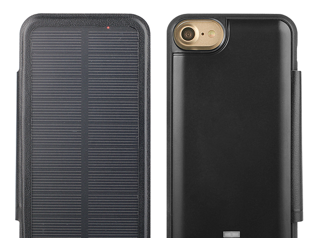 Solar Power Jacket For iPhone 8 - 3000mAh