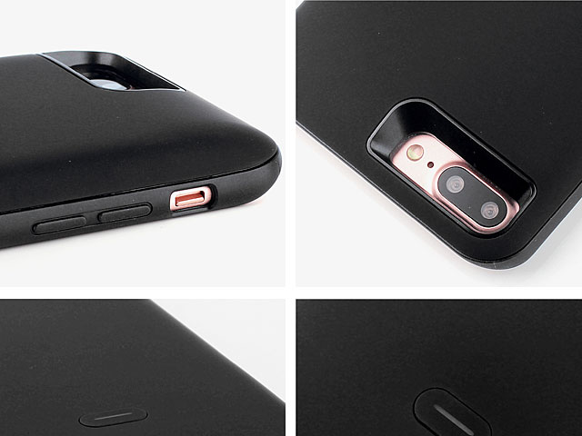 3-In-1 Dual SIM Card Power Jacket for iPhone 8 Plus