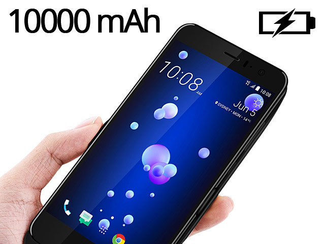 Power Jacket For HTC U11 - 10000mAh