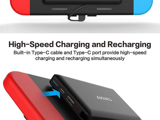 Power Bank For Nintendo Switch 10000mah