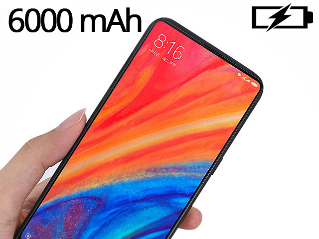 Power Jacket For Xiaomi Mi Mix 2s - 6000mAh