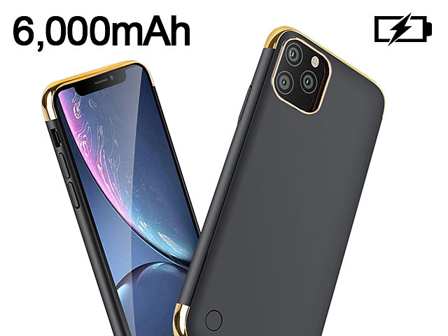 Power Jacket For iPhone 11 Pro Max (6.5) - 6000mAh