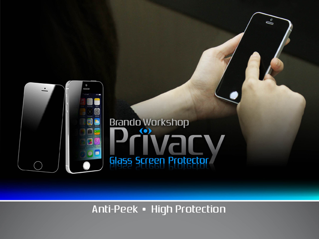 Brando Workshop Privacy Glass Screen Protector (iPad mini (2019))