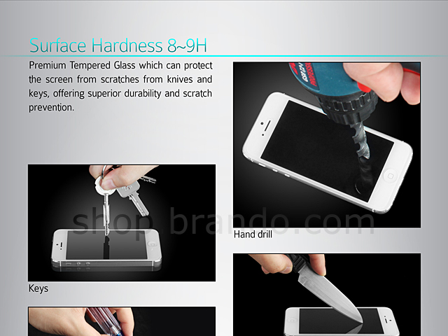 Brando Workshop Premium Tempered Glass Protector (HTC One)