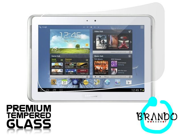 Brando Workshop Premium Tempered Glass Protector (Samsung Galaxy Note 10.1 GT-N8000)