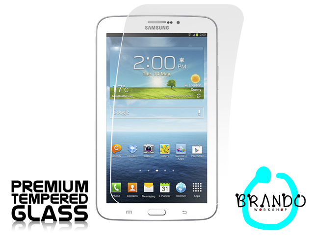 Brando Workshop Premium Tempered Glass Protector (Samsung Galaxy Tab 3 7.0 P3200 (3G+Wifi))