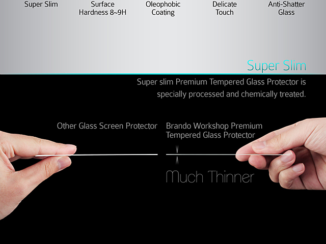 Brando Workshop Premium Tempered Glass Protector (Microsoft Surface Book)