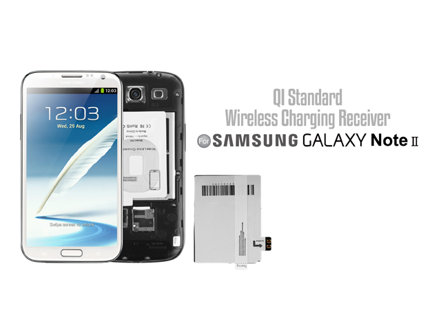 QI Standard Wireless Charging Receiver for Samsng Galaxy Note II