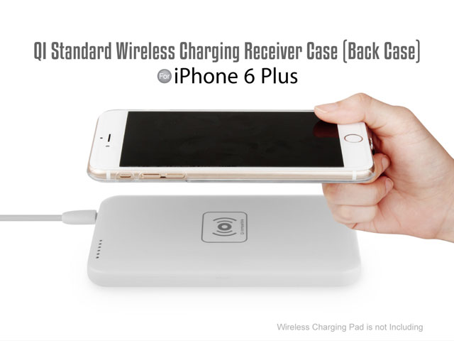 QI Standard Wireless Charging Receiver Case for iPhone 6 Plus / 6s Plus (Back Case)