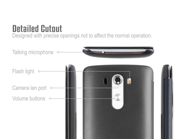 QI Standard Wireless Charging Receiver Case for LG G3