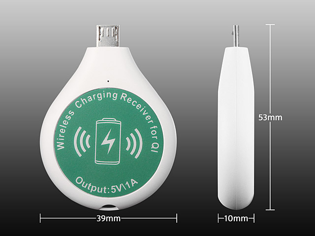 QI Standard Micro USB Wireless Charger Receiver