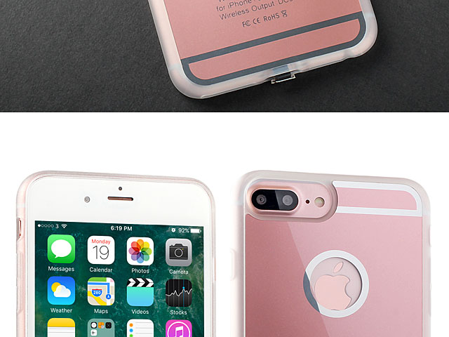 QI Standard Wireless Charging Receiver Case for iPhone 7 Plus / 6s Plus / 6 Plus (Back Case)
