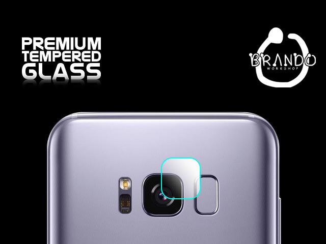 Brando Workshop Premium Tempered Glass Protector (Samsung Galaxy S8+ - Rear Camera)
