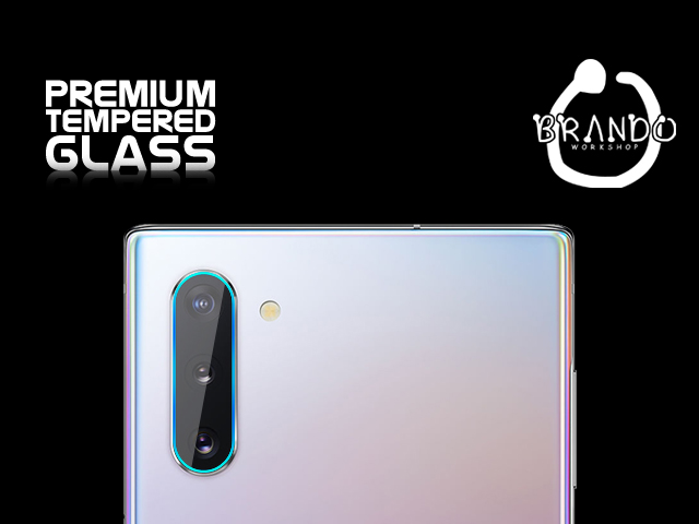 Brando Workshop Premium Tempered Glass Protector (Samsung Galaxy Note10+ 5G - Rear Camera)