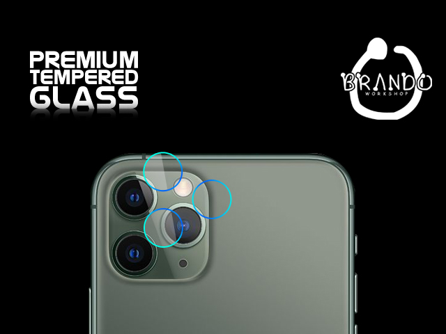 Brando Workshop Premium Tempered Glass Protector (iPhone 11 Pro (5.8) - Rear Camera)