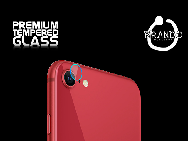 Brando Workshop Premium Tempered Glass Protector (iPhone SE (2020) - Rear Camera)