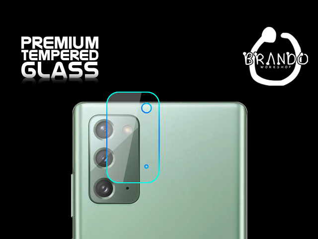 Brando Workshop Premium Tempered Glass Protector (Samsung Galaxy Note20 - Rear Camera)