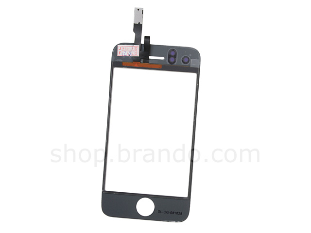 iPhone 3G Replacement Digitizer / Touch Panel with Glass Lens - White