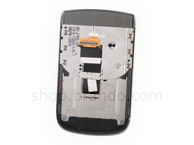 Blackberry Torch 9800 Replacement Front Panel - Black