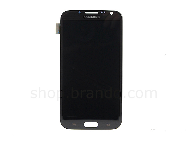 Samsung Galaxy Note II GT-N7100 Replacement LCD Display - Titanium Gray