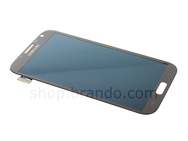 Samsung galaxy note ii gt n7100 replacement lcd display titanium gray