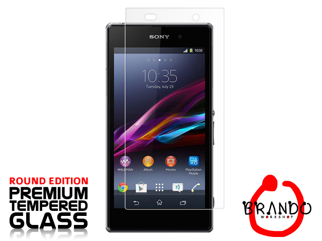 Brando Workshop Premium Tempered Glass Protector (Rounded Edition) (Sony Xperia Z1)
