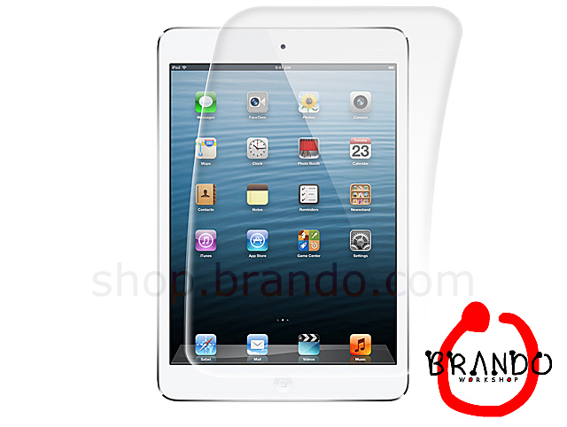 Brando Workshop Premium Tempered Glass Protector (Rounded Edition) (iPad mini with Retina display)