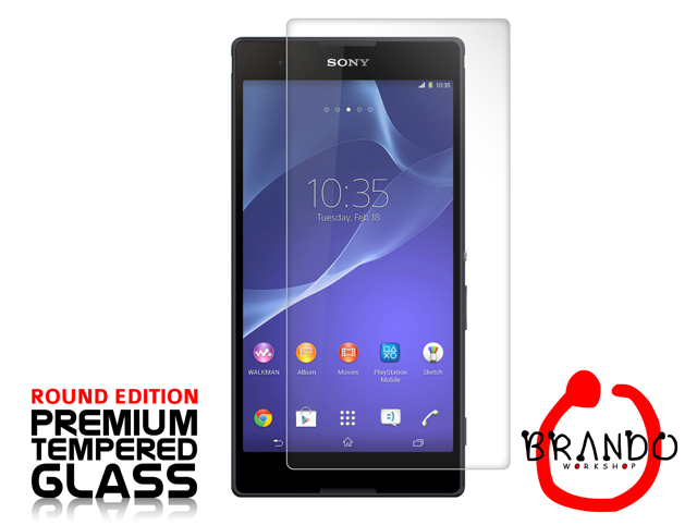 Brando Workshop Premium Tempered Glass Protector (Rounded Edition) (Sony Xperia T2 Ultra)