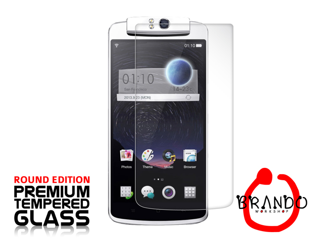 Brando Workshop Premium Tempered Glass Protector (Rounded Edition) (OPPO N1)