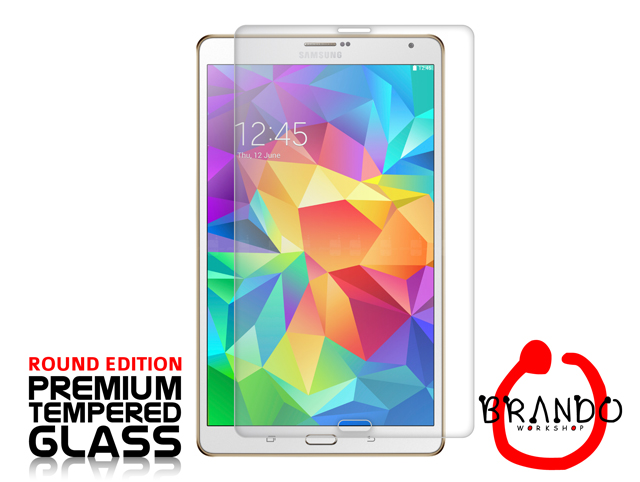 Brando Workshop Premium Tempered Glass Protector (Rounded Edition) (Samsung Galaxy Tab S 8.4)
