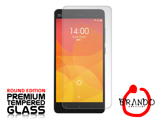 Brando Workshop Premium Tempered Glass Protector (Rounded Edition) (Xiaomi MI-4)
