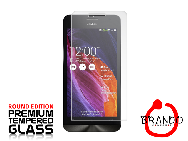 Brando Workshop Premium Tempered Glass Protector (Rounded Edition) (Asus Zenfone 5 A500KL)