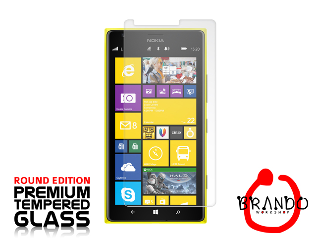Brando Workshop Premium Tempered Glass Protector (Rounded Edition) (Nokia Lumia 1520)