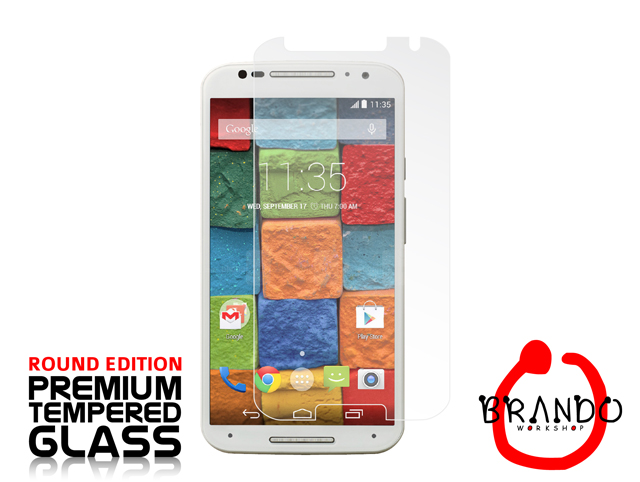 Brando Workshop Premium Tempered Glass Protector (Rounded Edition) (Motorola Moto X (2014))
