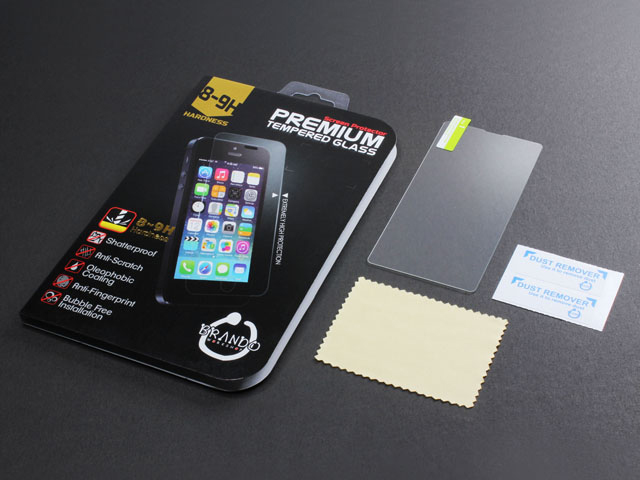 Brando Workshop Premium Tempered Glass Protector (Rounded Edition) (Samsung Galaxy E5)