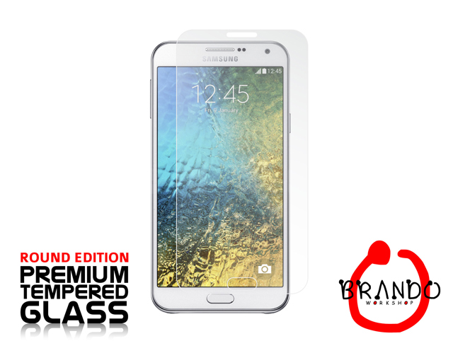 Brando Workshop Premium Tempered Glass Protector (Rounded Edition) (Samsung Galaxy E7)