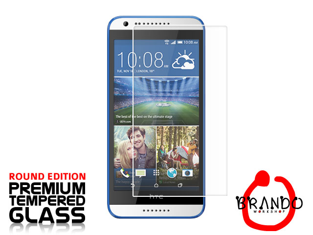 Brando Workshop Premium Tempered Glass Protector (Rounded Edition) (HTC Desire 620 dual sim)