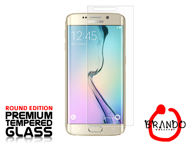 Brando Workshop Premium Tempered Glass Protector (Rounded Edition) (Samsung Galaxy S6 edge)