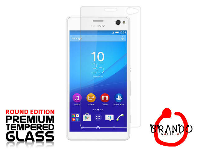 Brando Workshop Premium Tempered Glass Protector (Rounded Edition) (Sony Xperia C4)