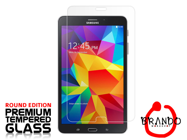 Brando Workshop Premium Tempered Glass Protector (Rounded Edition) (Samsung Galaxy Tab 4 8.0)