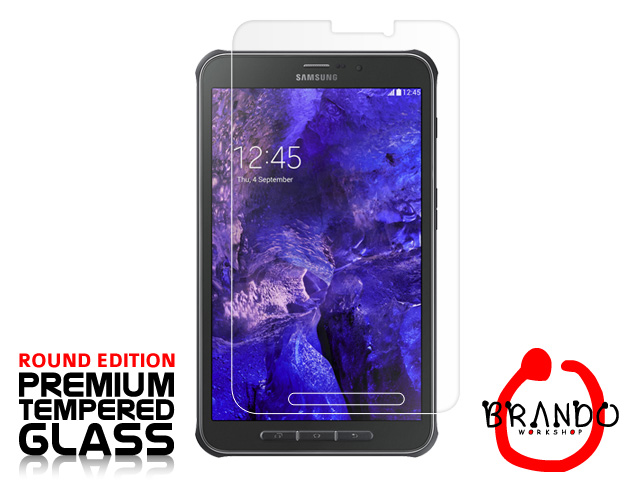 Brando Workshop Premium Tempered Glass Protector (Rounded Edition) (Samsung Galaxy Tab Active)