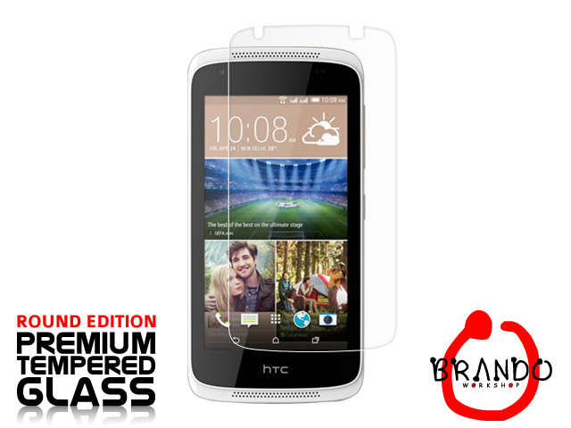 Brando Workshop Premium Tempered Glass Protector (Rounded Edition) (HTC Desire 326G dual sim)