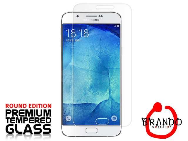 Brando Workshop Premium Tempered Glass Protector (Rounded Edition) (Samsung Galaxy A8)