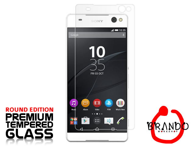 Brando Workshop Premium Tempered Glass Protector (Rounded Edition) (Sony Xperia C5 Ultra)