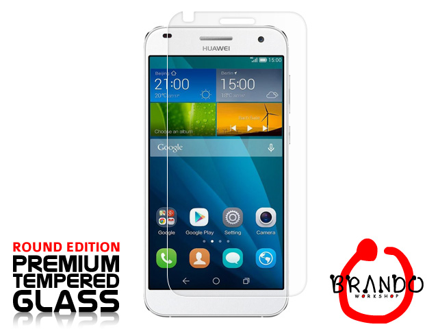 Brando Workshop Premium Tempered Glass Protector (Rounded Edition) (Huawei Ascend G7)