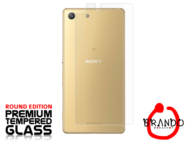 Brando Workshop Premium Tempered Glass Protector (Rounded Edition) (Sony Xperia M5)