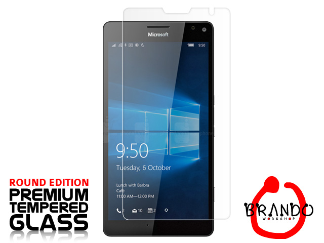 Brando Workshop Premium Tempered Glass Protector (Rounded Edition) (Microsoft Lumia 950 XL)